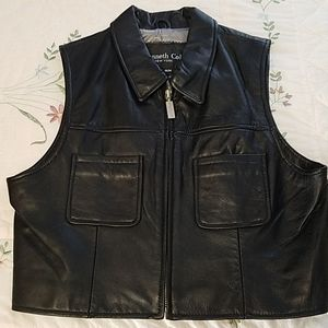 Kenneth Cole Leather Vest